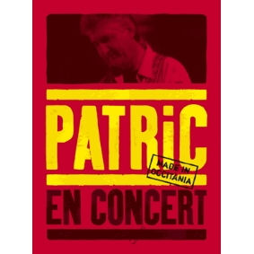 Miniature DVD et CD Patric en concert