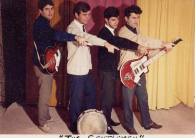 02 Groupe Les Gentlemen Mèze 1963