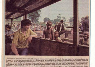 07 Patric Brazzaville Congo 1984