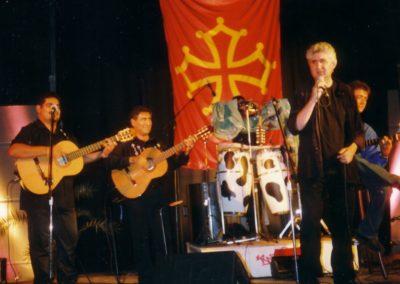 08 Concert avec Gipsyland Mauguio 1999